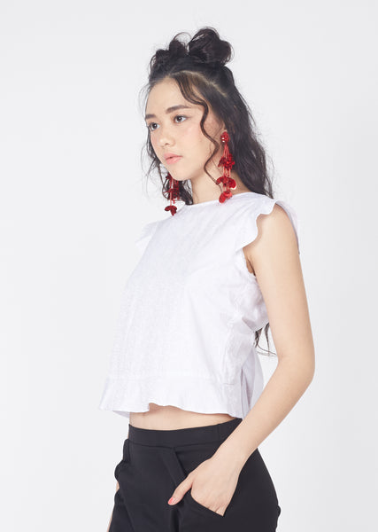 Sass Up Top (White)