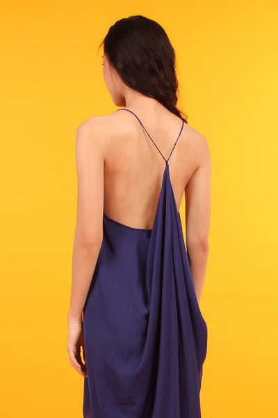 Stringback Dress (Cobalt Blue)