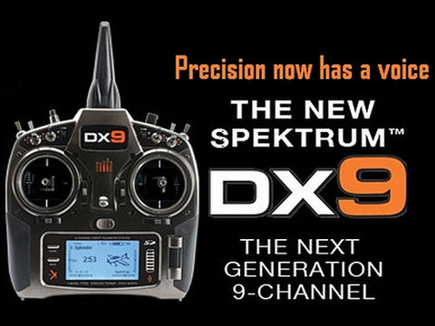 Spektrum DX9 9Ch mode 2 TX ONLY