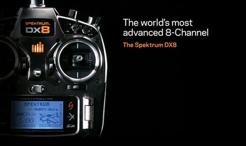 Spektrum DX8 w/AR8000 Mode 2