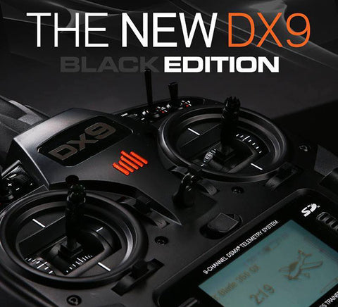 Spektrum DX9 Black Edition w/ AR9020 Receiver