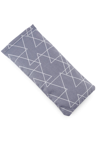 abstract grey eye pillow