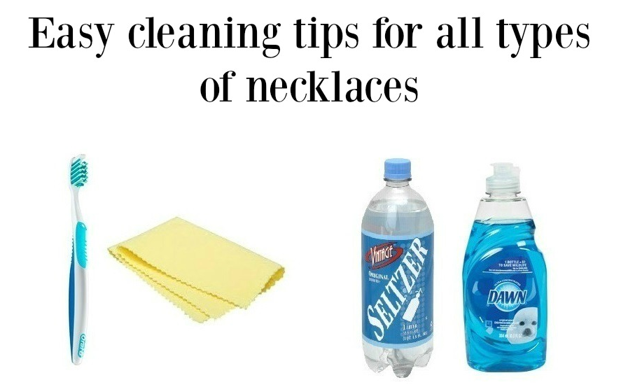 Simple ways to clean all types of necklaces