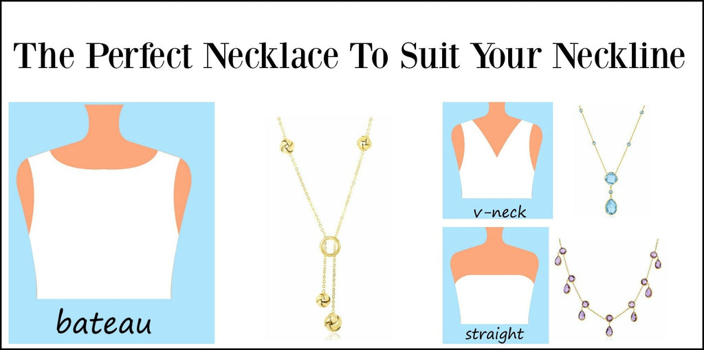 Choosing the right necklace for your neckline