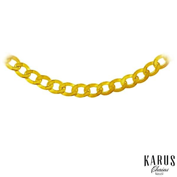 10K Gold Curb Chain 2.4mm(2)