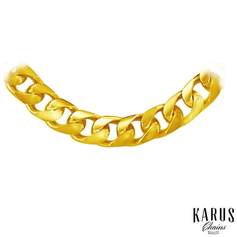 Solid Miami Cuban Link Chain 5.8mm 14K Gold