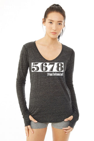 5678 LONG SLEEVE ECO TEE