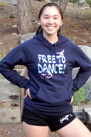 FREE TO DANCE PULLOVER DANCE HOODIE