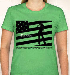 iDANCE GRAPHIC DANCE TEE