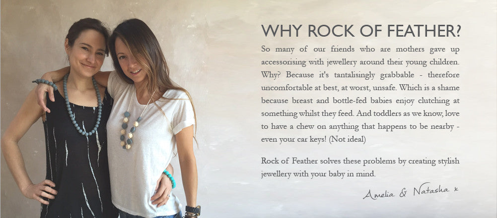 Rock of Feather - stylish jewellery for mothers