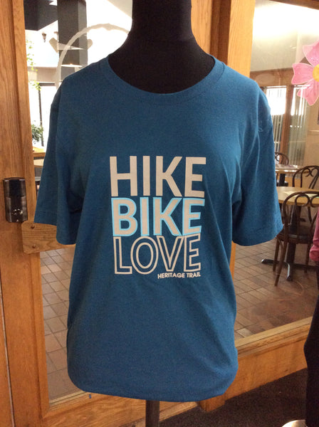Hike,Bike, Love T-Shirt