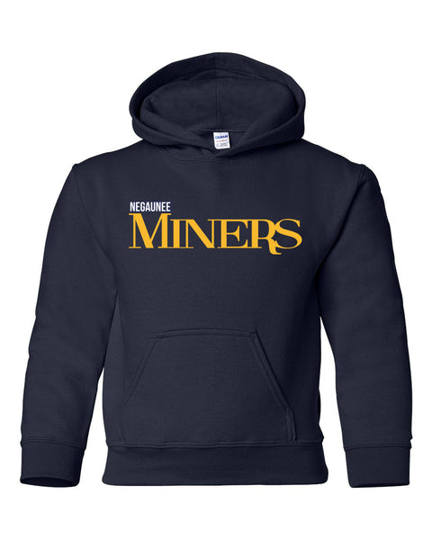 Miners Youth Hooded Sweatshirt