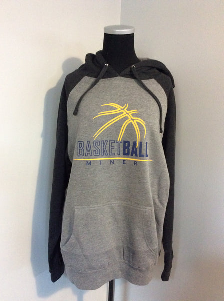 Miner Basketball Hooded Sweatshirt
