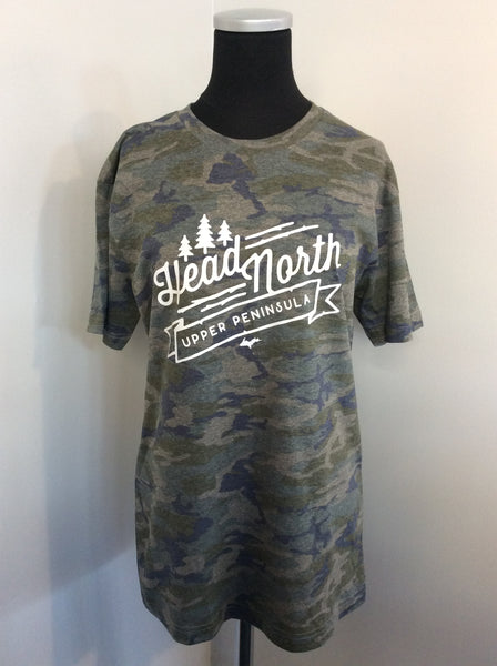 Head North Camo Short Sleeve