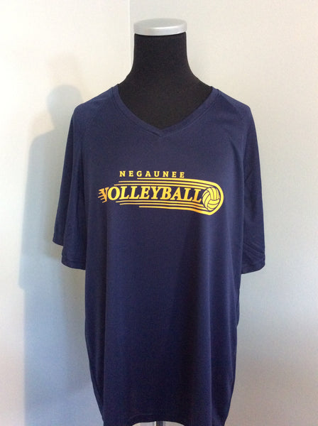 Girls Volleyball Wicking Shirt