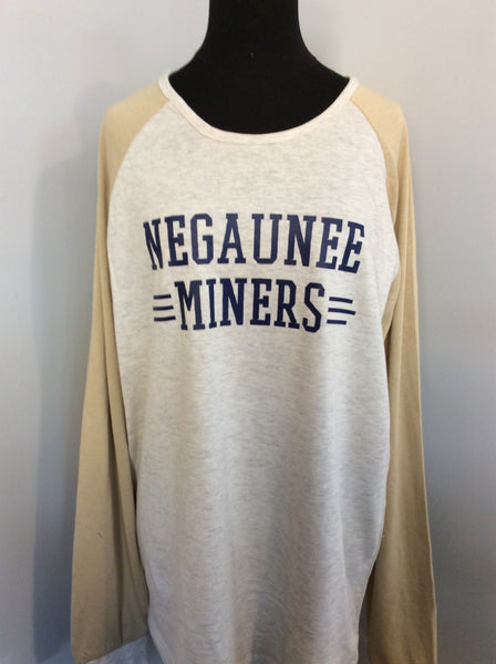 Negaunee Miners Home Plate Long Sleeve