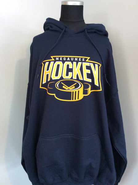 Negaunee Hockey Hooded Sweatshirt