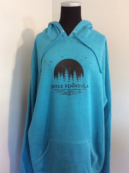 Upper Peninsula Hooded Sweatshirt