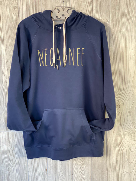 Negaunee Lightweight Terry Hooded Sweatshirt