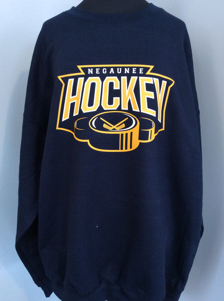 Negaunee Hockey Crewneck