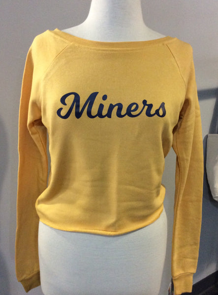 Miners Cropped Crewneck