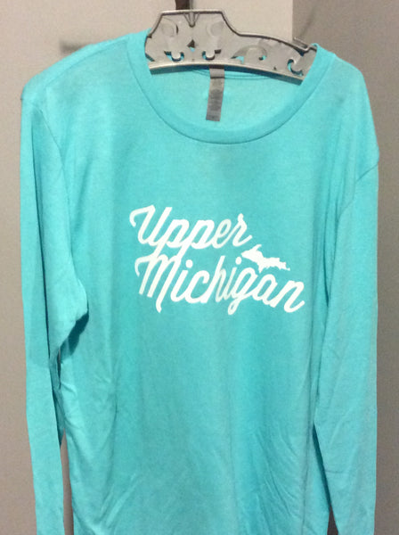 Next Level Upper Michigan Long Sleeve Crew