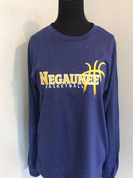 Negaunee Basketball Unisex Long Sleeve