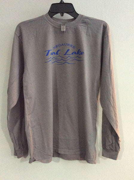 Teal Lake Long Sleeve Tee