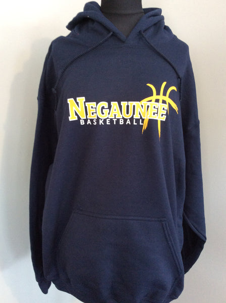 Negaunee Basketball Hooded Sweatshirt