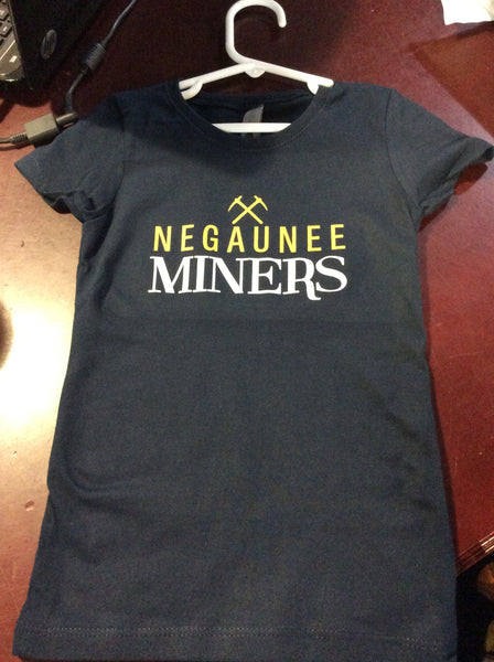Negaunee Miners Pick Axe Girls' Tee