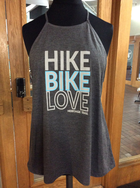 Hike, Bike, Love Tank Top