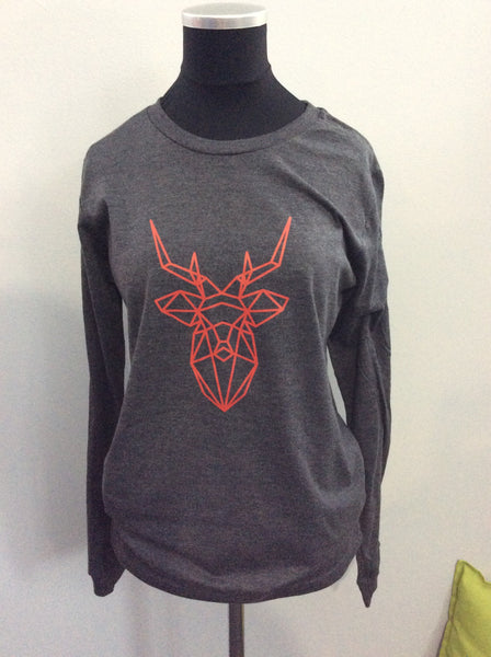 Geometric Deer Long Sleeve