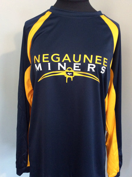 Negaunee Miners Long Sleeve Warm-Up