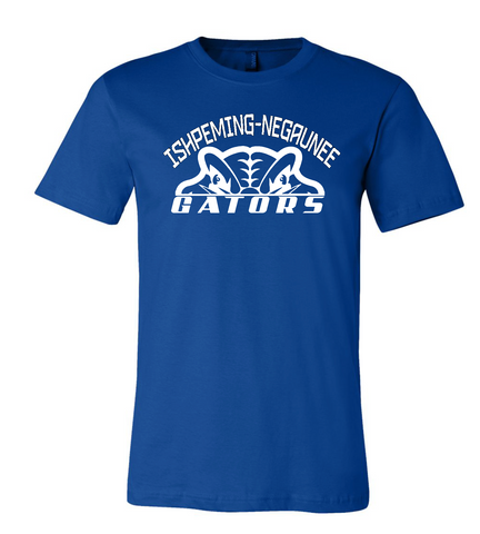 Gator Short Sleeve Tee Royal WL