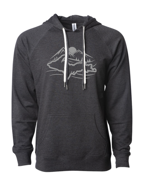 Mountain Up Lightweight Hooded Pullover