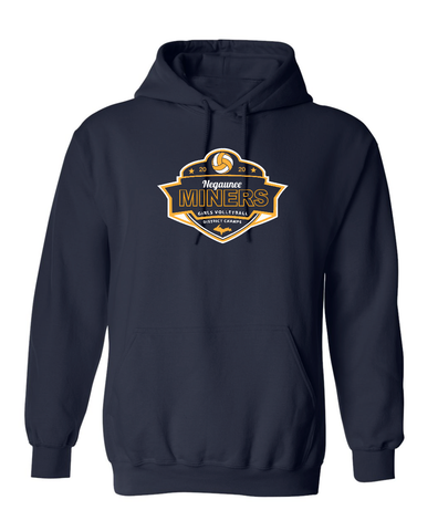 Negaunee Volleyball 2020 District Champs Hoodie - Unisex