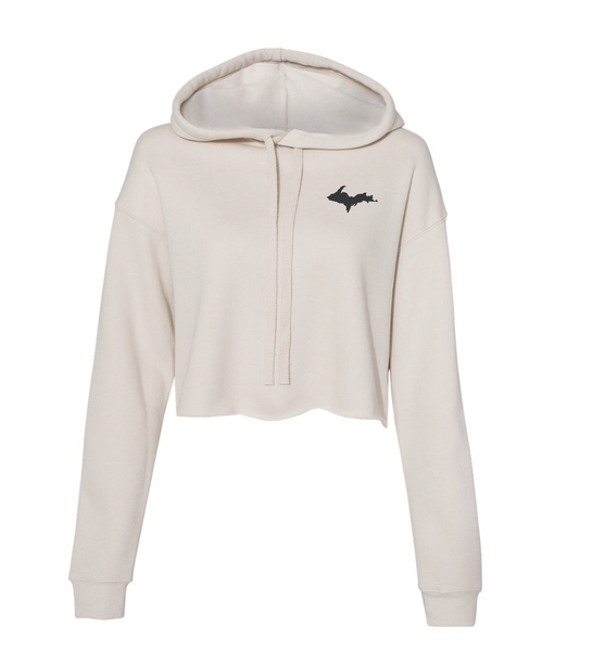 UP Women's Cropped Fleece Hoodie