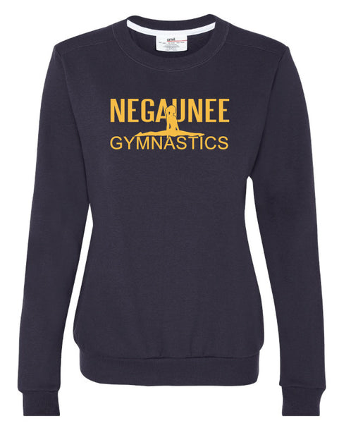 Ladies Gymnastic Crewneck Sweatshirt
