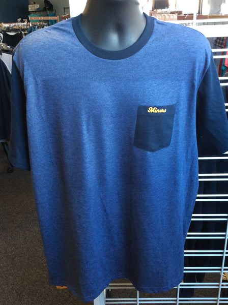Men's District Miners Tee with Pocket