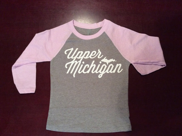 Upper Michigan Youth Baseball Tee