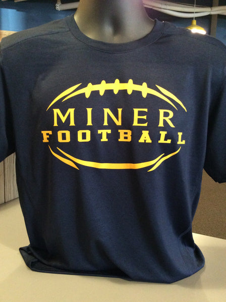 Negaunee Football Performance T-shirt