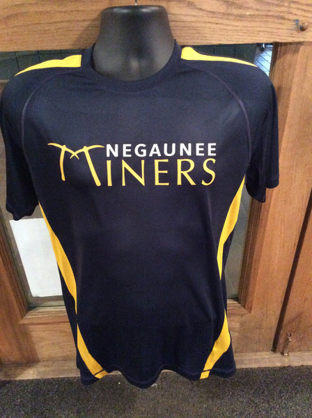 Negaunee Miners Performance Colorblock T-shirt