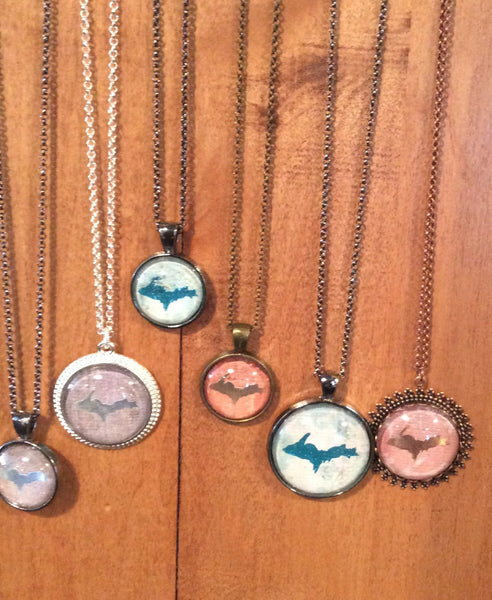 Upper Peninsula SM Pendant Necklace