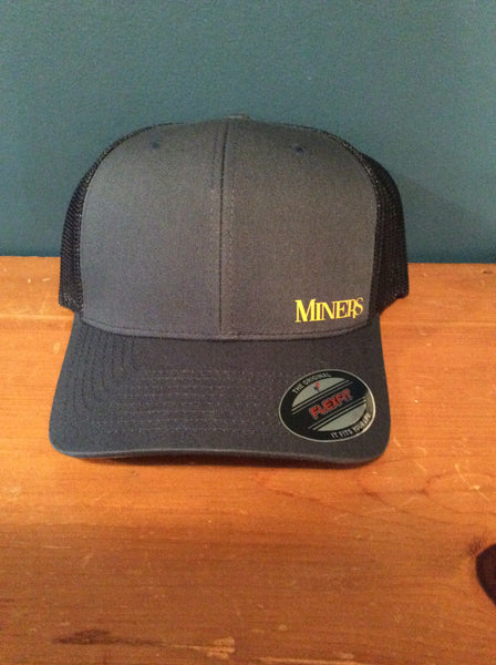 Navy Flex Fit Hat Gold Miners