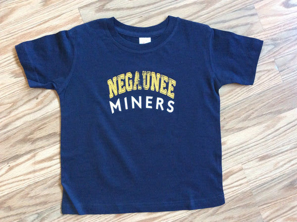 Negaunee Miners Fine Jersey Toddler T-Shirt