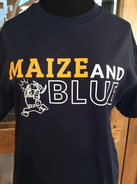 Maize and Blue Tee