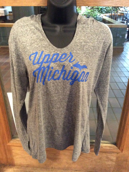 Ladies' Upper Michigan Hooded Pullover