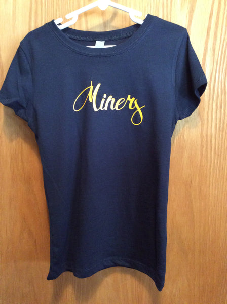 Girls Miners Next Level Tee
