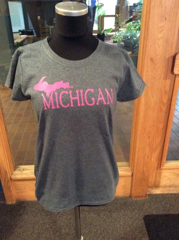Michigan Ladies T-shirt