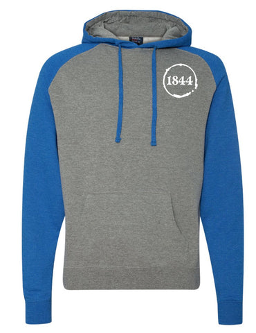 1844 Raglan Hooded Sweatshirt